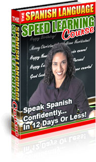 Speed Spanish course